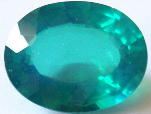 Huge Stunning 16.95 cts Oval Irradiated Emerald color Quartz