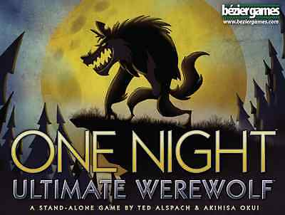 One Night Ultimate Werewolf Family Party Game Bezier Games BEZONUW Halloween - Halloween Board Games
