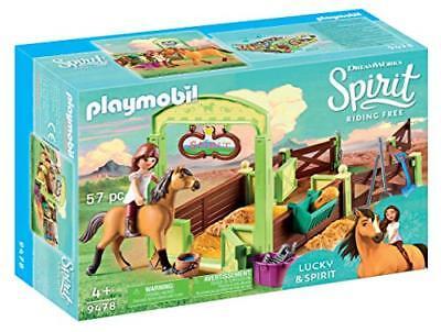PLAYMOBIL 9478 Spielzeug-Pferdebox Lucky &