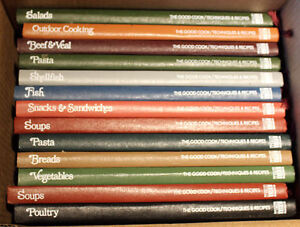 Time-Life The Good Cook Set – 13 books for $40 for the set