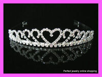 Wedding/Bridal crystal veil tiara headband--BRAND NEW!!
