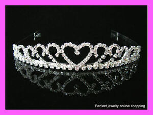 Wedding/Bridal crystal veil tiara headband--BRAND NEW!! Moncton New Brunswick image 1