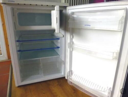 Kühlschrank Minibar Getränkekühlschrank Silber A Edelstahl Glastür 80l : Exquisit ks rva inoxlook kühlschrank edelstahl eur