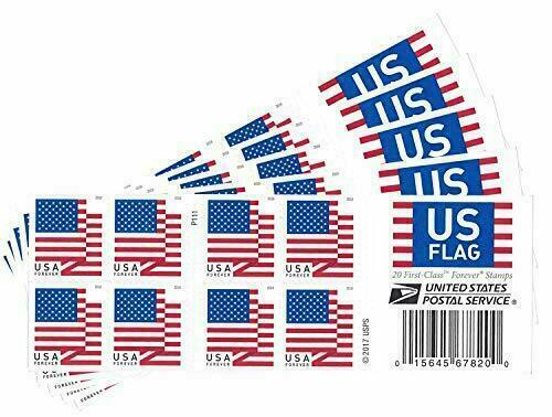 10 Brand New Unused USPS Forever Postage Stamps ~ No Expiration Free Shipping!