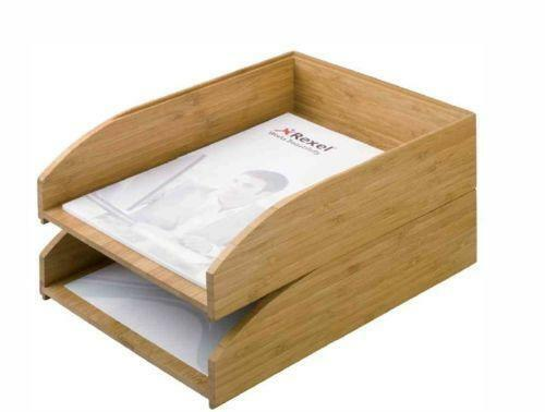 briefablage holz b ro schreibwaren ebay. Black Bedroom Furniture Sets. Home Design Ideas
