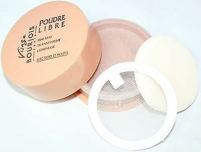 Bourjois Loose Powder for Face ~45 Miel Sauvage~Poudre Libre 15g.net Wt. 0.5 New