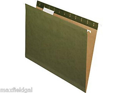 New 25 Hanging File Folders Letter Or Legal Size Wtabs - Your Choice Of Color