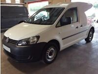 ONLY £152.06 PER MONTH WHITE 2012 VOLKSWAGEN CADDY 1.6 C20 DIESEL MANUAL