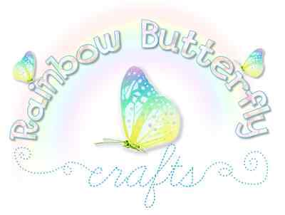 Rainbow Butterfly Crafts