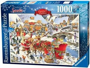 RAVENSBURGER PUZZLE 1000 PCS WHICH WAY SANTA LIMITED EDITION