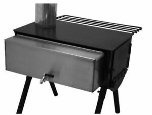 Camp Chef Hot Water Tank, WT14 Cylinder Stove