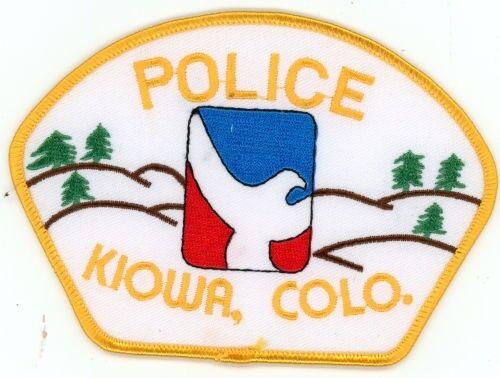 KIOWA COLORADO CO POLICE COLORFUL PATCH SHERIFF