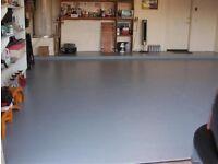 Brand new Johnstones 2 part resin garage floor paint in grey