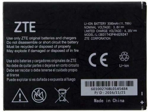 Original OEM Battery For ZTE Z959 Grand X 3 N9519 Warp 7  - $8.36