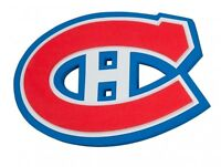 4 billets collés hockey Canadiens Centre Bell rouges 2015-2016