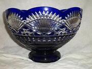 Blue Crystal Bowl