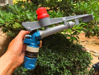 1 Alloy 360adjustable Impact Sprinkler Gun Water Irrigation Lawn Spray Gun A