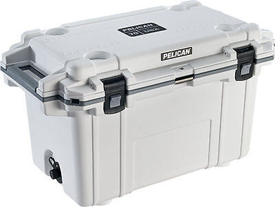 Pelican Extreme Elite Outdoor Cooler Ice Chest Series 70qt 70 Quart - White