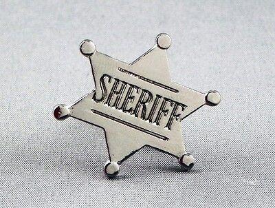 Sherriff Badge (Metal Enamel Pin Badge Brooch Sheriff Sherriff Badge Deputy Wild West)