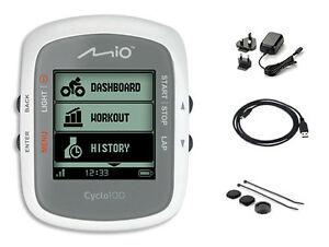 Mio Cyclo 100 GPS IPX7 Waterproof Bicycle Bike Cycle Computer + PC Interface NEW