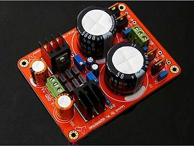 New Assembled Lm317 Lm337 Dual Power Adjustable Regulated Power Supply Board