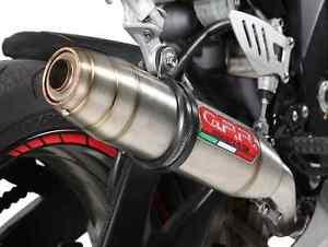 GPR DUCATI MULTISTRADA 620 EXHAUST SLIP ON DEEPTONE STAINLESS STEEL