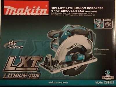Makita XSS02Z 18V LXT Li-Ion Cordless 6-1/2