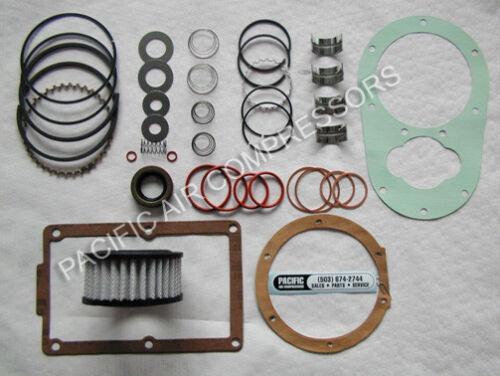 INDUSTRIAL AIR 1V7518023, 165-0064 REBUILD KIT FOR PUMP 040-0211 & SC23