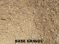 Base Gravel - Crusher Dust - Crushed Rock - Masonry Sand