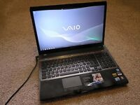 "SONY VAIO VPC-F11Z1E/BI 16.4"" LAPTOP, GREAT CONDITION!"
