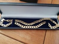 "9ct Soild Gold Curb Chain 32g 26"" £799 ono (RRP £1299)"