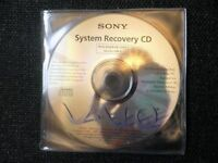 SONY VAIO PCG-XG28 / PCG-XG29 SYSTEM & APPLICATION RECOVERY CD'S (NEW CONDITION)
