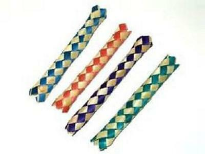 25 CHINESE FINGER TRAPS BAMBOO Party Favor Bird Parrot Toy Free Shipping