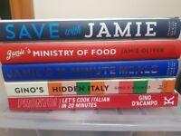 Jamie Oliver, Gino D'acampo Cook Books