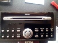 Ford Mondeo Sony 6 cd changer/radio, ,, NEEDS REPAIR OR FOR SPAIRS
