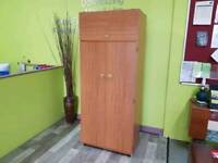 Schreiber Wood Effect Wardrobe - Can Deliver For £19