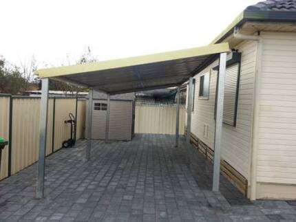 Brand new flat roof carport 3 x 6 $ 880 or 3 x 9 $ 1355 Logan Central Logan Area Preview