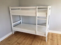VERY NICE BRAND NEW SOLID PINE BUNK BEDS . FREE DELIVERY IN PLYMOUTH