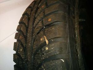 205 70 15 Champrio winter tires with studs New on Rims Gatineau Ottawa / Gatineau Area image 3