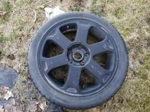 Used Audi S4 Rims with Tires *Missing Center Cap*