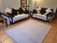 🔥MEGA SALE🔥Brand new SHANNON CRUSHED VELVET Corner Sofa and 3+2 Seater Sofa set🔥🔥
