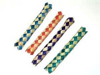 50 CHINESE FINGER TRAPS BAMBOO Party Favor Bird Parrot Toy Free Shipping