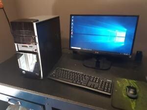 PC GAMER i7-4770 + GTX 1060 + WIFI + 2TB + JEUX + ECRAN FULL HD