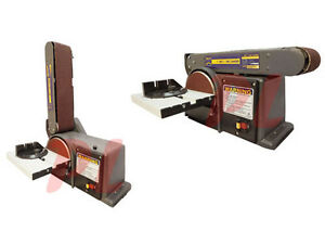heavy duty 4 x 6 belt disc sander table bench top 0 45 ebay. Black Bedroom Furniture Sets. Home Design Ideas