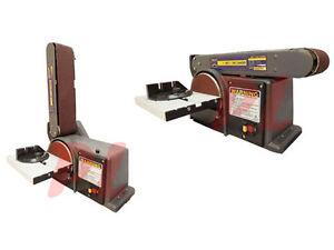heavy duty 4 x 6 belt disc sander table bench top 0 45 u00b0 ebay