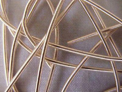 Thread Very Light - Rough Purl, Very Light Gold Bullion. Metal Thread Embroidery