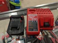 Milwaukee M18 XC4.0 Battery + Dual Charger