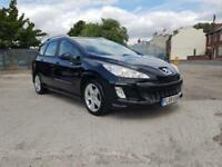 PEUGEOT 308 SW 1.6 MOT 12 MONTHS, HPI CLEAR, ONLY ONE FORMER KEEPER FROM NEW
