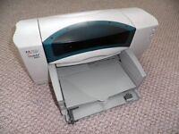 HP DESKJET 843C INKJET PRINTER + REFILLABLE INK (GREAT CONDITION)