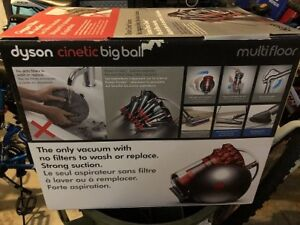 Dyson Cinetic Big Ball Multi Floor Canister Vacuum New $580